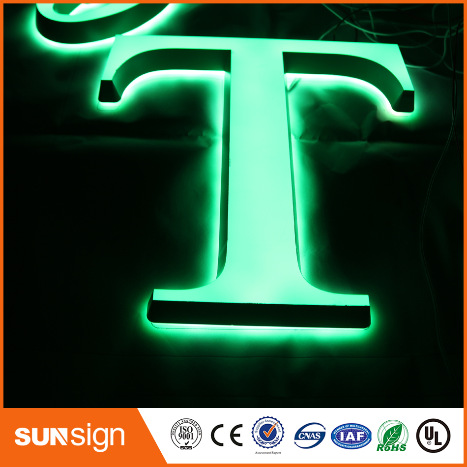 Custom DIY Acrylic LED Illuminated Sign Letters