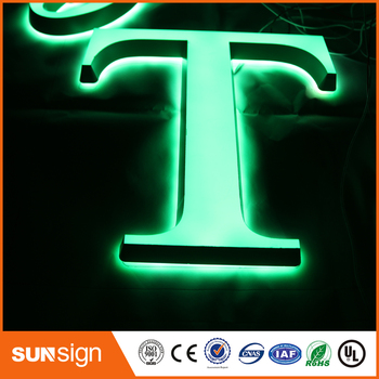 Custom DIY acrylic LED illuminated sign letters