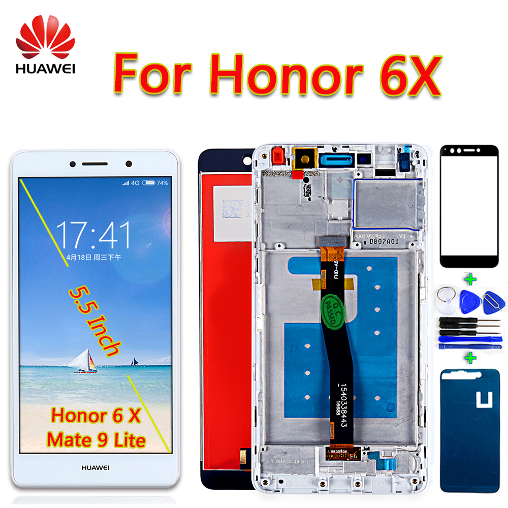 Huawei Digitizer-Assembly Mate Lcd-Display Touch-Screen Se-Frame BLN-AL10 For With Free-Gift