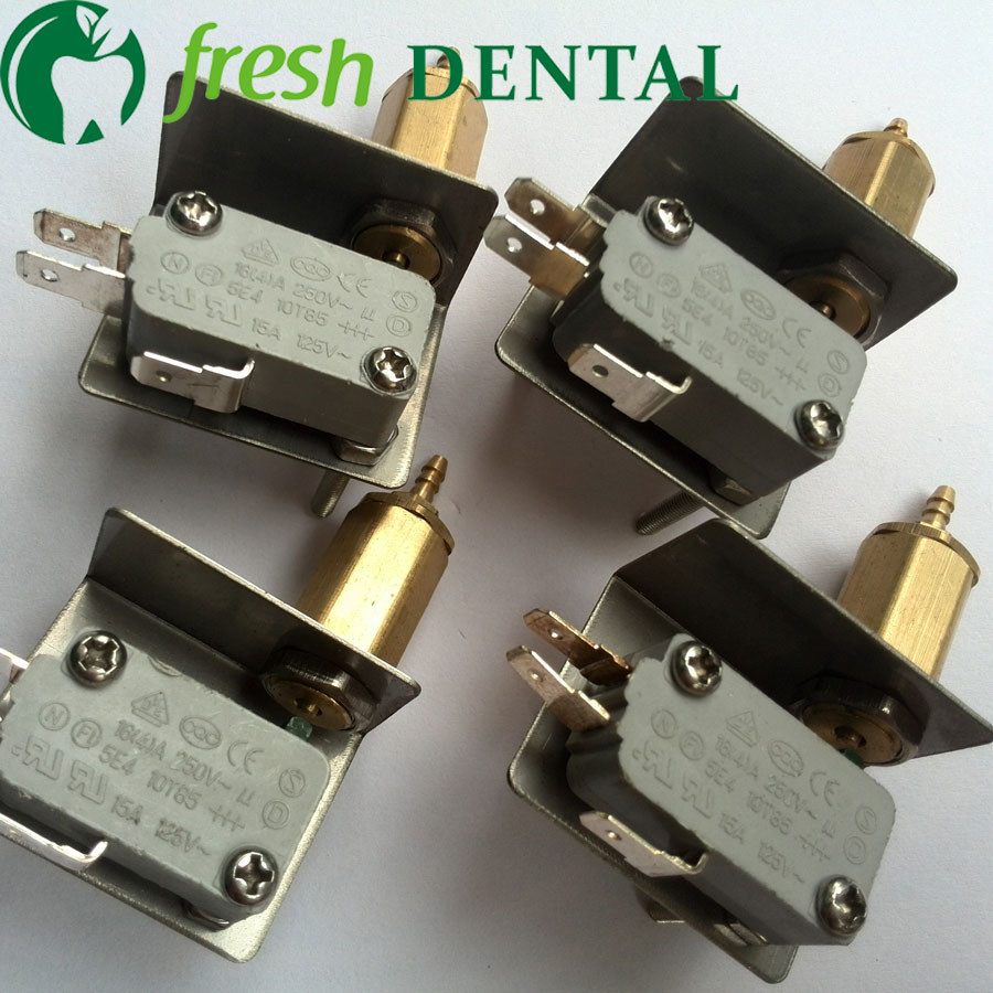 10PCS Dental air electric switches Ultrasonic Scaler Micro switch 3mm valve dental chair unit product dental equipment SL1246B-in Teeth Whitening from Beauty & Health    1