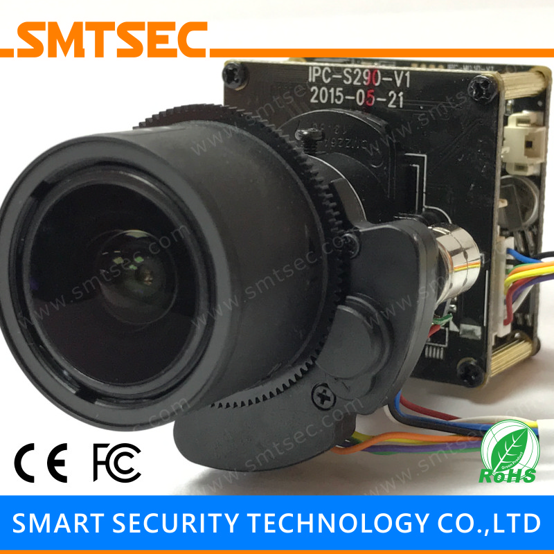 US $100 05 |WDR 3MP CCTV Security IP Camera Module Low Lux Sony IMX123 CMOS  Network Board Camera PCB With 6 22 mm Motorized zoom Lens-in Surveillance
