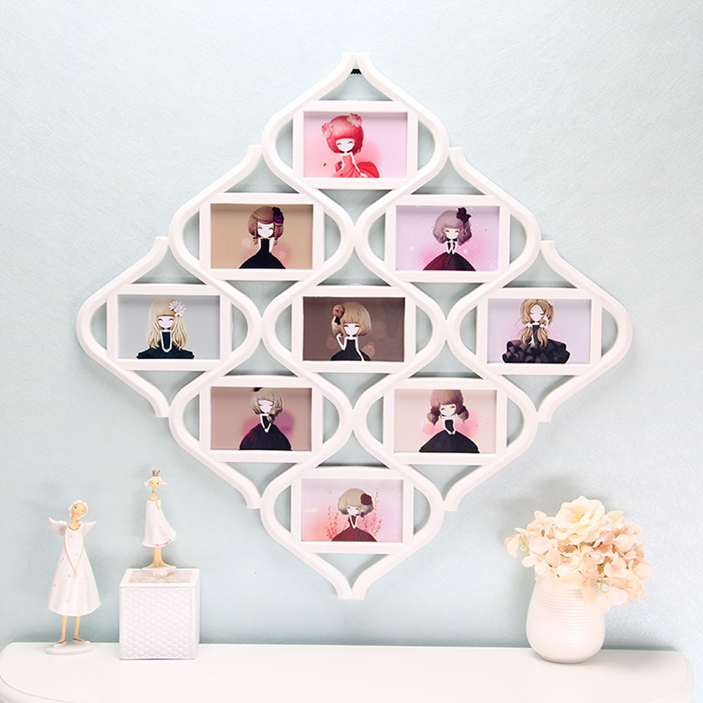 online buy wholesale modern collage frames from china modern  - yazi modern chic multi picture collage photo frame shabby wall hangingdecor art home decor(