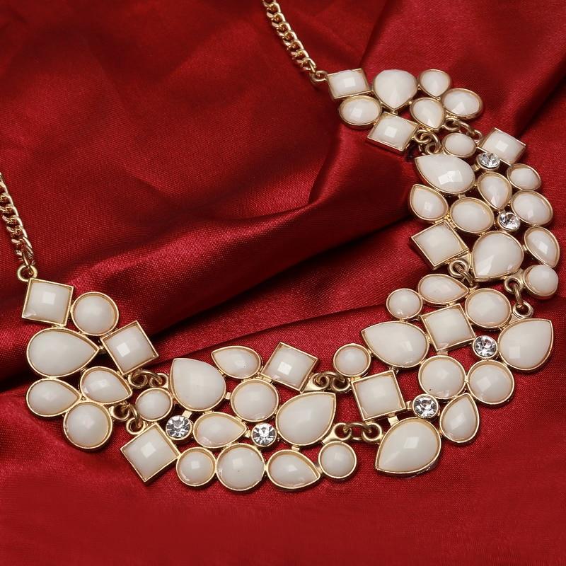 Bijou déclaration colliers et pendentifs Vintage or argent plaqué chaîne tour de cou Collier Bijoux Femme Maxi pour les femmes colliers Colar