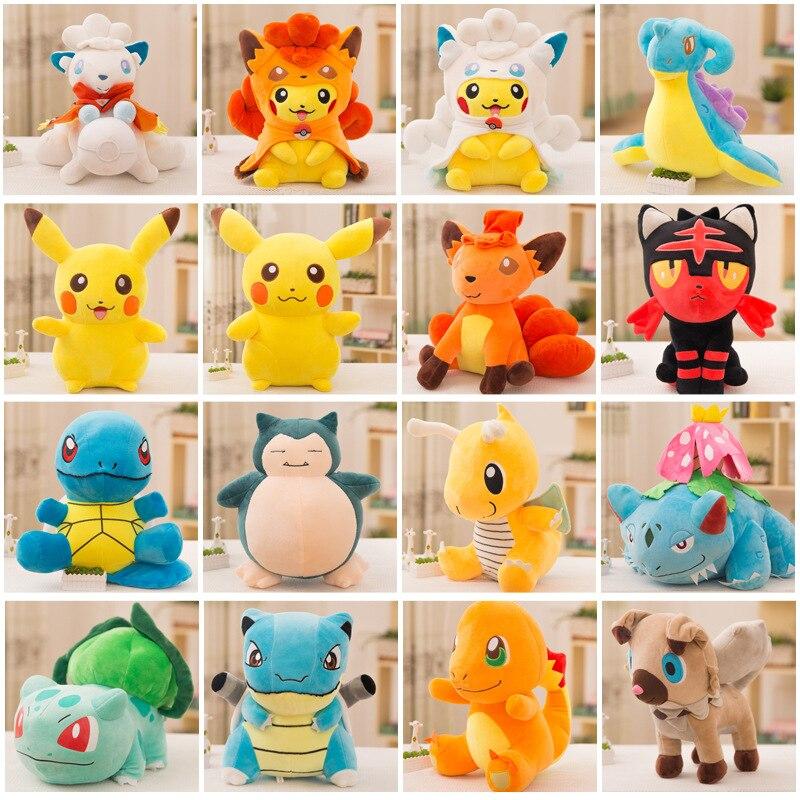"6/"" Cute Pokemon Lugia Kids Toy Soft Plush Stuffed Doll Toys Birthday Gift New IB"
