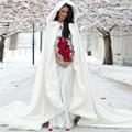 Latest Collection Princess Wedding Cloak Custom Made Hooded with Faux Fur Winter Warm Cape Good Quality Exclusive