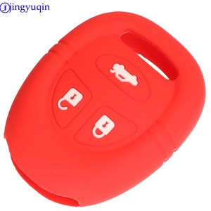 Image 5 - jingyuqin 3B Remote Car Key Silicone Cover Case For Saab 9 3 9 5 1999   2009 Holder Styling