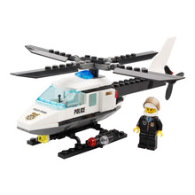 102pcs DIY Police Station Building Blocks Bricks Helicopter Educational Model Kits Toys For Children Gift Compatible Legoing K21 цена в Москве и Питере
