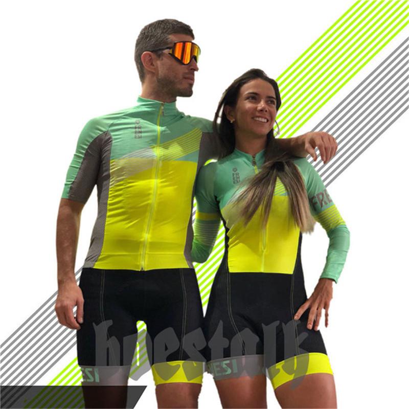 2019 Pro team body suit women triathlon skinsuit frenesi men cycling jersey swimwear running suit custom bike clothes tight suit