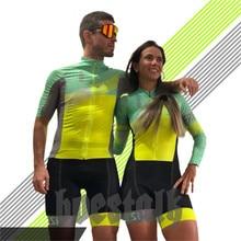 2019 Pro team body suit women triathlon skinsuit frenesi men cycling jersey swimwear running custom bike clothes tight