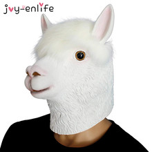 1pcs Funny Alpaca Llamas Unicorn Head Latex Rubber Face Mask Adult Party Masks Jungle Llama Party Costume Prop Cosplay Supplies-in Party DIY Decorations from Home & Garden on Aliexpress.com   Alibaba Group