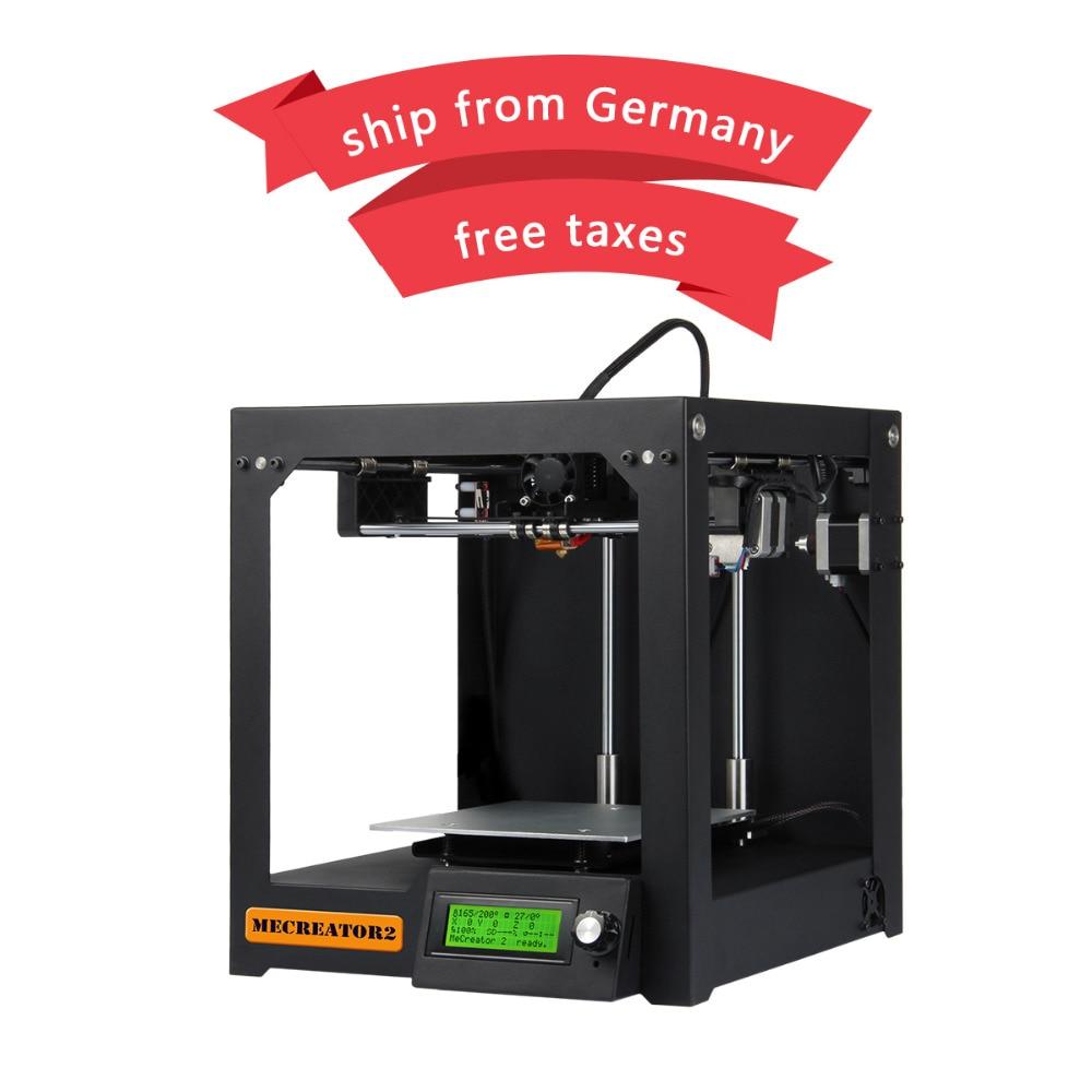 Geeetech 3D Printer MeCreator 2 Desktop Full Assembled 160x160x160mm High quality Steel Chasis