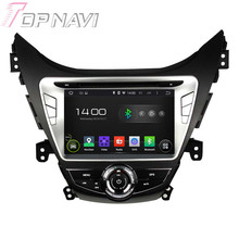 Quad Core Android 5.1 Car GPS Navigation For Hyundai Elantra/Avante/I35 2011-2013 With Radio Multimedia Video Mirror Link 16GB