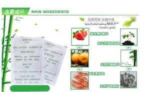 Image 3 - 20pcs=(10pcs Patches+10pcs Adhesives) Detox Medical Foot Patches Herbal plasters weight lose Feet Slimming Cleansing Foot Z08025