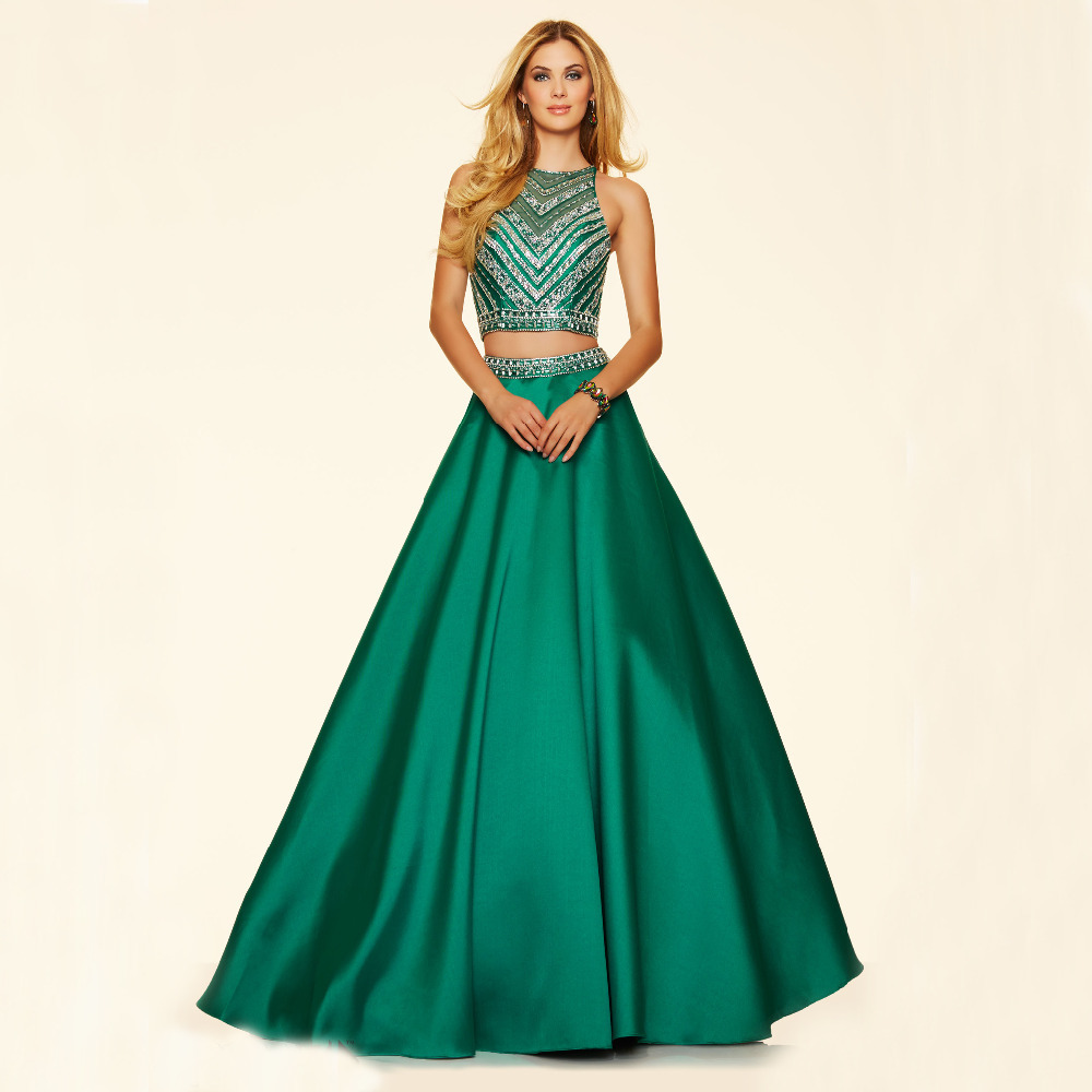 Bling Beading 2 Piece Quinceanera Dresses For 15 Years Sweet 16 Ball ...