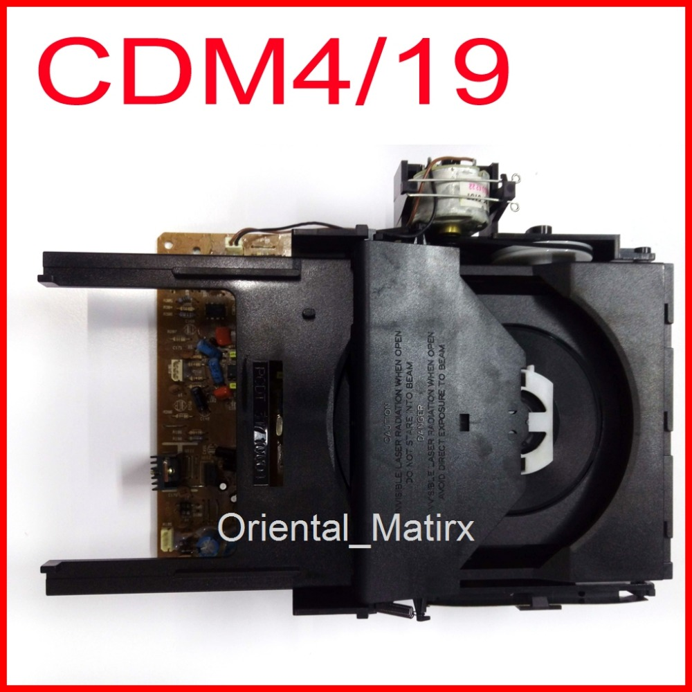 Brand New CD Laser Len CDM4 CDM4/19 Optical Pick-Up Mechanism Mechanical Unit Replacement For Philips Marantz Mechanism цена