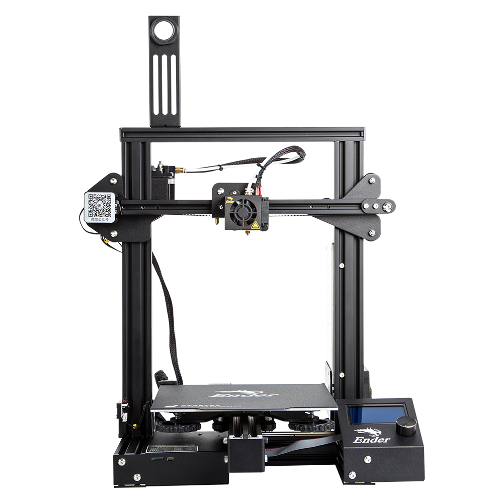 CREALITY New V-Slot Ender-3 Pro 3D Printer Full Metal Cmagnetic Bulid Plate Printing Size 220*220*250MM With Brand Power