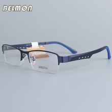 Belmon Eyeglasses Frame Men Brand Computer Optical Prescription Clear Lens Eye Glasses Spectacle For Male Eyewear 2387