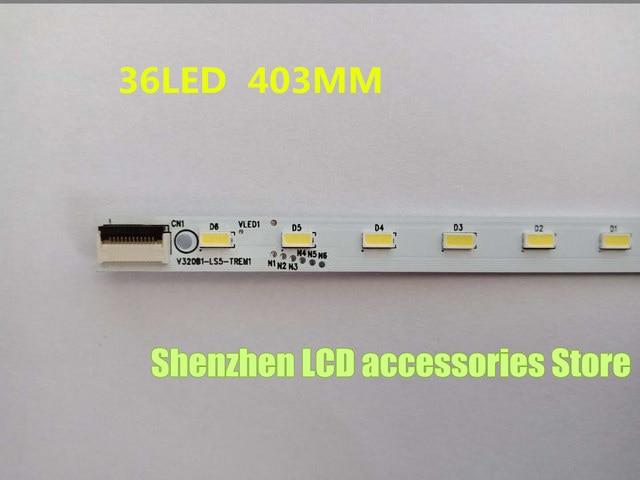 100%NEW   FOR Skyworth 32E550D LCD backlight strip V320B1 LS5 TREM1 V320B6 LE1 TLEM1 is 36LED 403MM