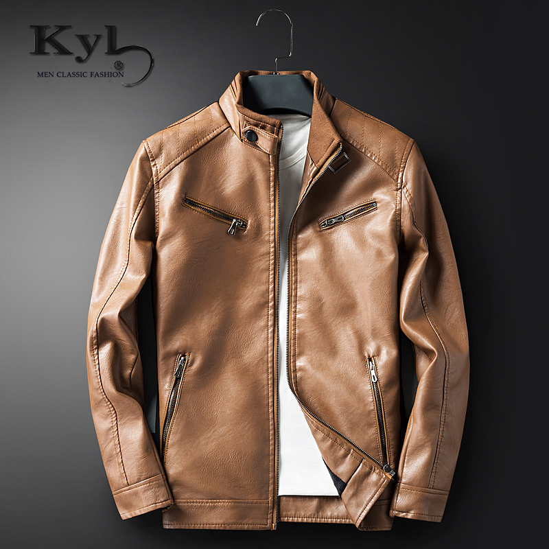Brand Pilot Motorcycle Leather Jackets Men Autumn and Winter Leather Clothing Men Leather Jackets Male Business Casual Coats