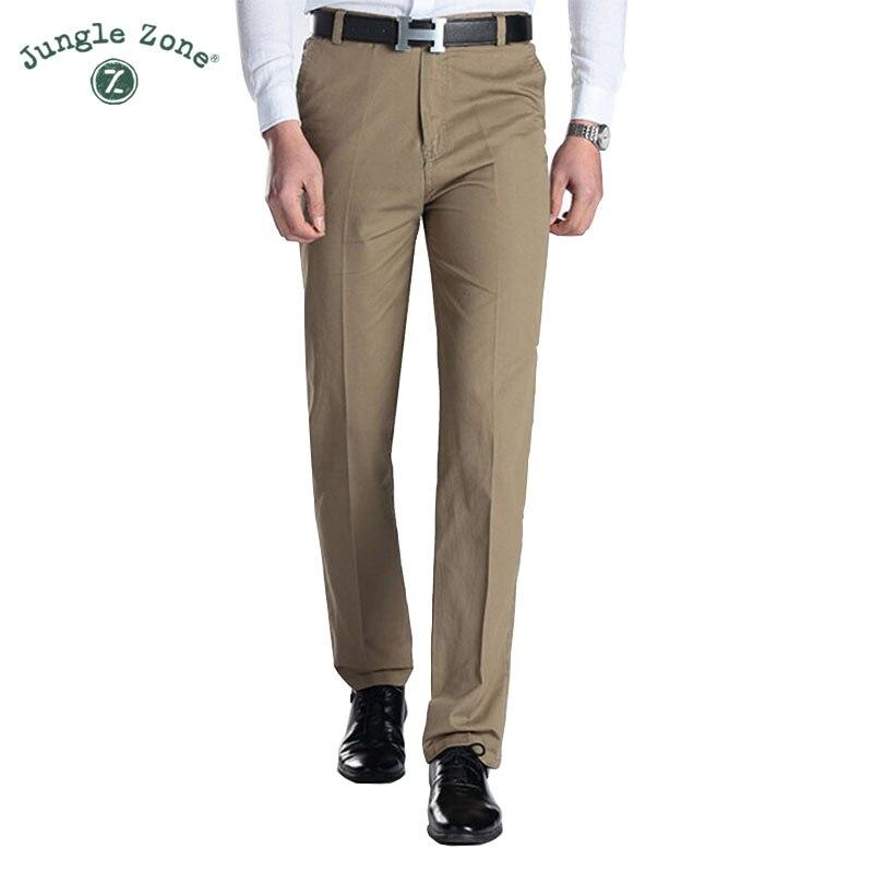 JUNGLE ZONE summer pants 100% cotton male Trousers