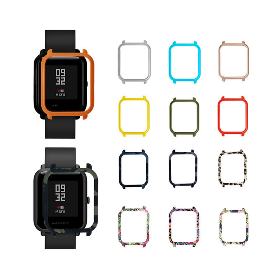 PC Protective Watch Case Cover For Xiaomi Huami Amazfit Bip Bit Youth Watch PC Shell Frame For Amazfit Bip Watch Accessories