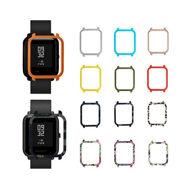 מחשב מגן שעון מקרה כיסוי לxiaomi Huami Amazfit ביפ קצת נוער שעון מחשב פגז מסגרת עבור Amazfit ביפ שעון אבזרים