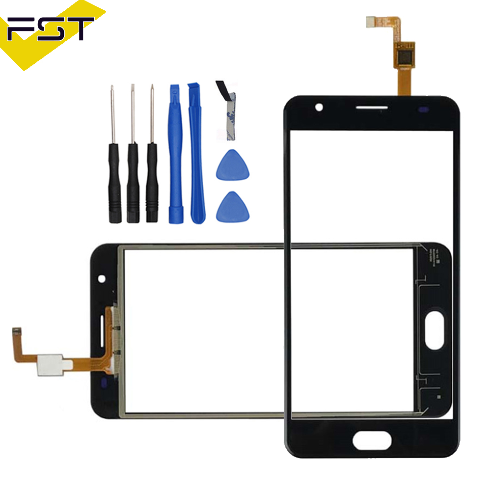 Black/White Touchscreen For Oukitel K8000 Touch Screen Digitizer Touch Panel Glass Sensor For K8000 Phone Repair +Free Tools