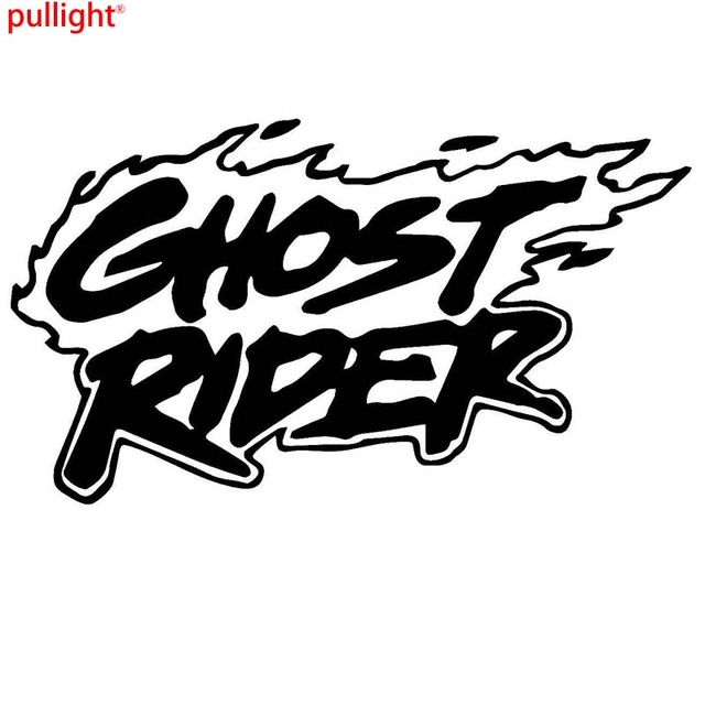 Ghost rider game graphic die cut decal sticker car truck boat wind