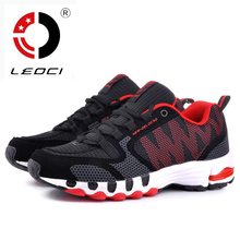 LEOCI Big Size 35-48 Running Shoes For Men Women 2016 Summer Air Mesh Breathable Sport Shoes Running Athletics Sneakers Shoe