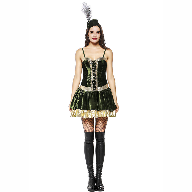 Cool Female Cosplay Costumes Halloween Masquerade Cosplay Costumes Green Rogue Robin Hood Role Play Fancy Disfraces-in Sexy Costumes from Novelty u0026 Special ...  sc 1 st  AliExpress.com & Cool Female Cosplay Costumes Halloween Masquerade Cosplay Costumes ...