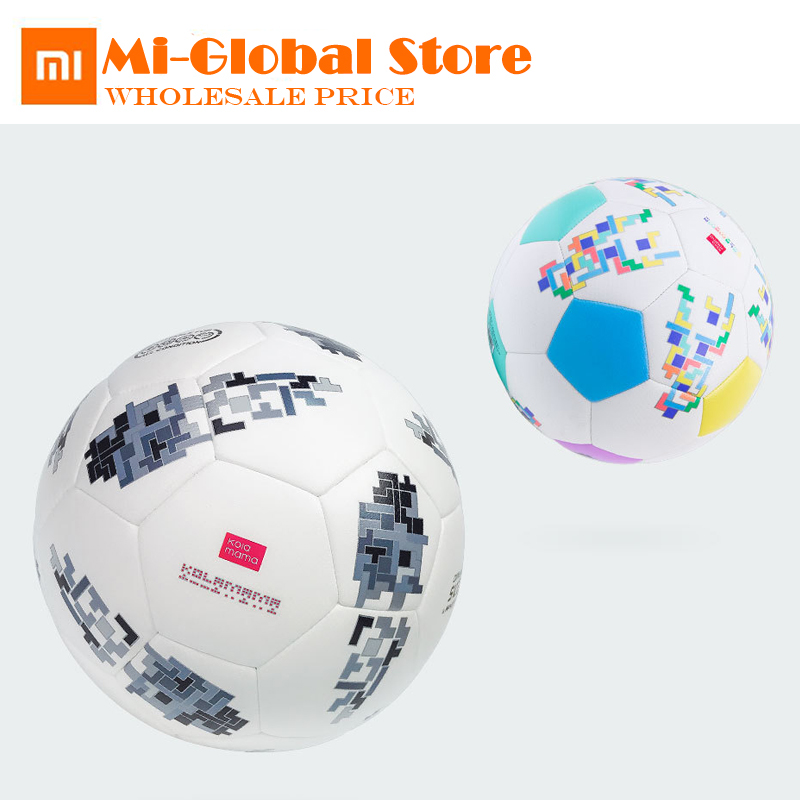 D'origine xiaomi Kolamama Enfants de football TPU officiel Ballon De Football Haute rebond Taille 5 Taille 3 haute qualité Ballon de sport