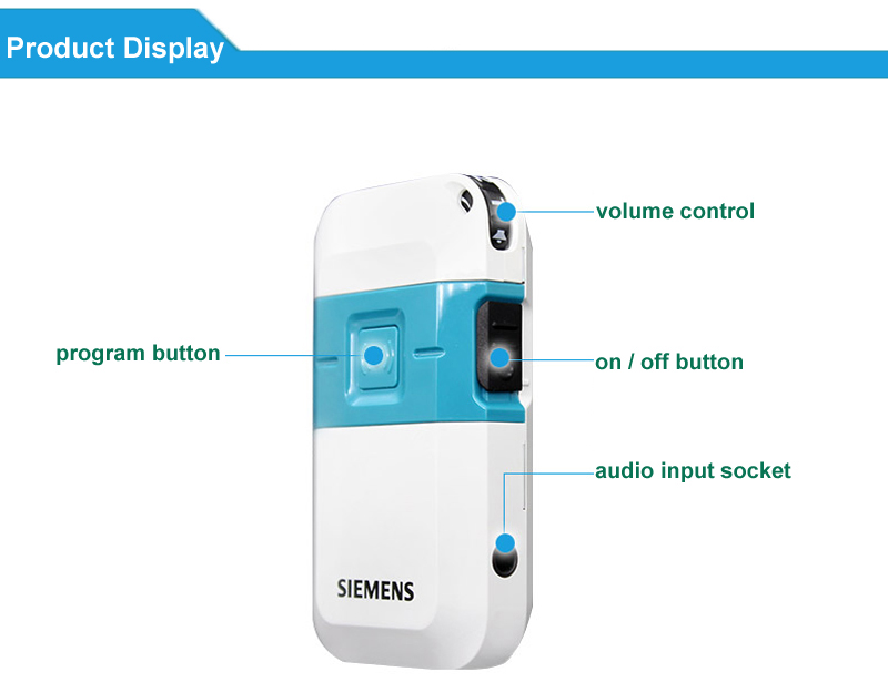 Siemens Pocket Hearing Aid