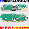 New Original ZOPO C2 C3 ZP980 SmartPhone USB Connector PCB For OTG Charging Repair Parts V7_ZP(H780) Replacement + Free Shipping