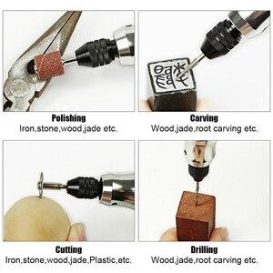 Image 5 - TUNGTULL wiertarka wiertarka akumulatorowa akumulator litowo Carving Pen Mini wiertarka elektryczna polerowana polerowana rzeźbiona