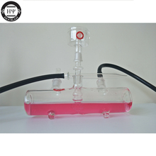 2017 desk hookah stable shisha glass mp5 model with adapter coal tray