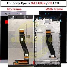 Pour SONY Xperia XA2 Ultra/C8 LCD écran tactile numériseur assemblée H3213 remplacement pour SONY XA2 Ultra LCD avec cadre