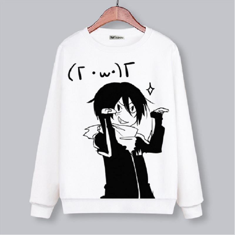 High-Q Unisex Anime Noragami Yato Iki Hiyori Yukine O Neck Hoodie Nora Sweatshirts Jacket Coat Top