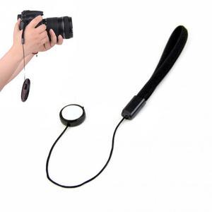 Image 5 - 5 sztuk 23cm uniwersalny na obiektyw do lustrzanki cyfrowej pokrywy Cap Holder Keeper pasek smycz smycz do Canon akcesoria do aparatu
