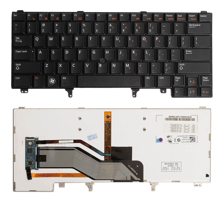 Nouveau Véritable Pour Dell Latitude E6320 E6330 E6420 E6430 E6440 NOUS Clavier D'ordinateur Portable Rétro-Éclairé