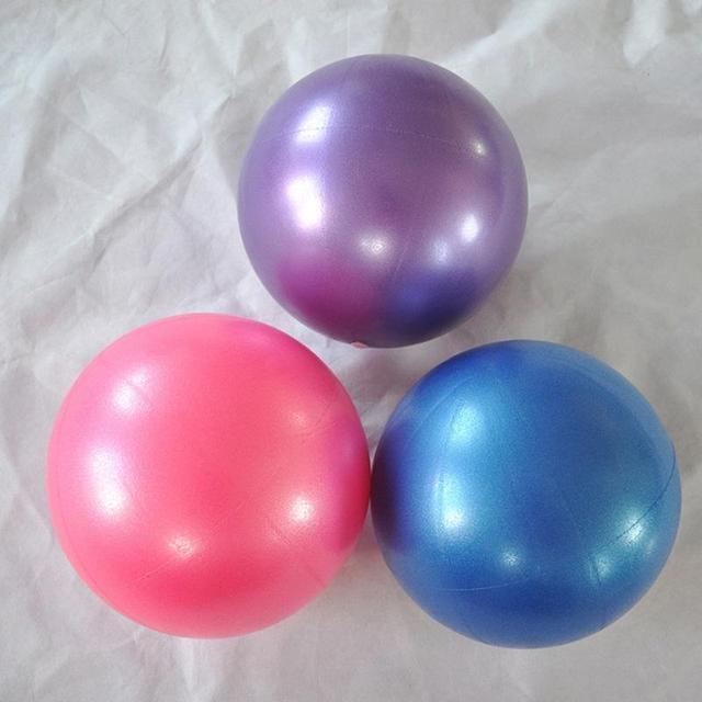 Mounchain יוגה פילאטיס כושר איזון ויציבות מיני תרגיל כדור, אנטי פרץ, Core אימון ופיזיותרפיה