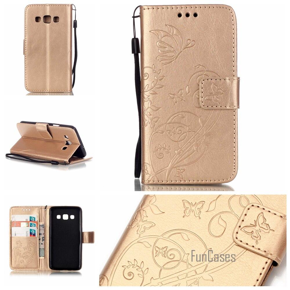 Flip Case pour coque Samsung Galaxy A3 Cas pour fundas Samsung A3 Couverture 4.5 A3 A300 A300F A300H A3000 + Stand Titulaire de la Carte