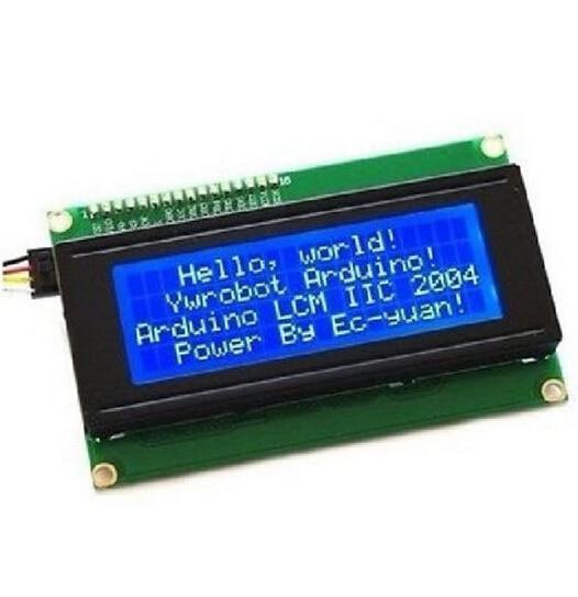 Blue Serial IIC I2C TWI 2004 204 20X4 Character LCD Module Display  B3-005