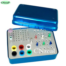 89 Holes Disinfection Sterilization Holder Block Box Endo-files Burs Polishing Kits Gutta Percha & Absorbent Paper Points dental endo box fg ra hp burs holder autoclave disinfection box 91 holes 4 holes 1 pan