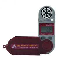 AZ 8910 Digital multi function anemometer detect Heat Index Tester (wind speed temperature humidity, 5 in 1) air flow pressure t