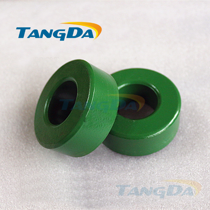 Tangda insulated green ferrite core bead 64*30*25 magnetic ring magnetic coil inductance interference anti-interference filter tangda ferrite cores emi bead core 58 40 18 58 40 18 mm ring coil emi toroidal core anti interference filter t core type a