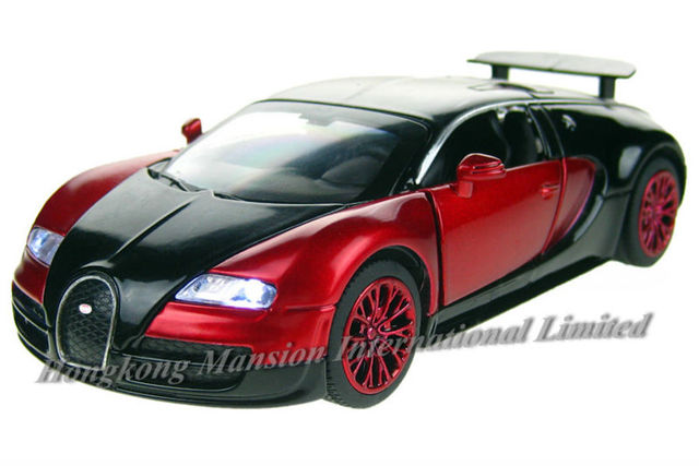 1:32 Scale Diecast Alloy Metal Super Racing Car Model For Bugatti Veyron  Collection Model