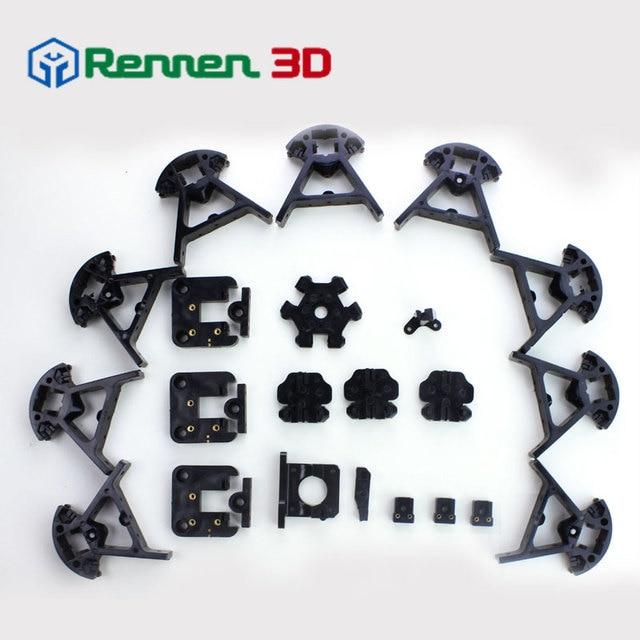 Reprap Kossel Delta Frame 3D Printer Spuitgieten Onderdelen Voor ...