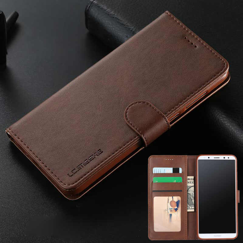 Luxury Leather Flip Case For Huawei Mate 10 Lite Case Cover Mate 10 Phone Fundas For Huawei Mate 10 Pro Case With Card Holder