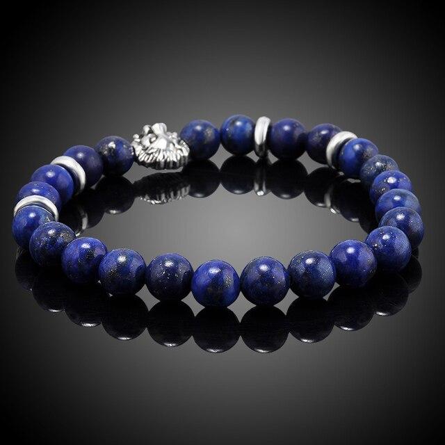 Bracelet En Perles De Sodalite