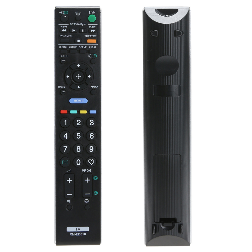 High grade remote control For Sony RM-ED016 Replacement Remote Controller for Sony TV RM-ED016 tv control remote image